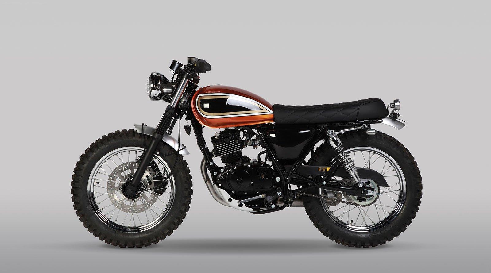 Stefanhead Mutt Motorcycle Rimini